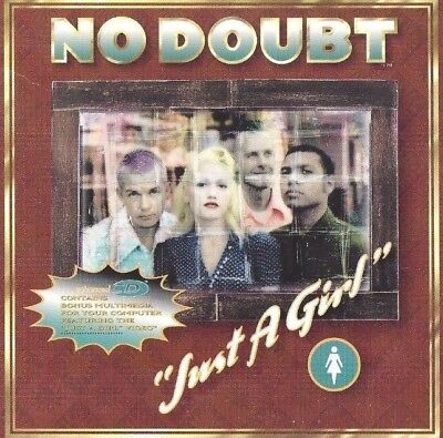 NO DOUBT Just a Girl CD PROMO SINGLE with cardboard slip cover  ()