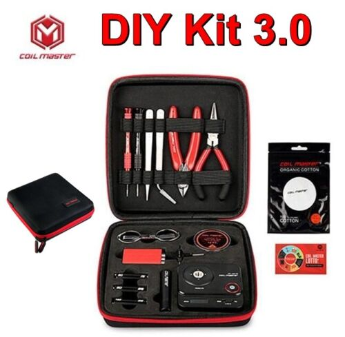 100% AUTHENTIC - Coil Master DIY Kit V3 is the Perfect All In One Kit USA SELLER