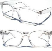 Clear Lens Frame Wayfarer Glasses