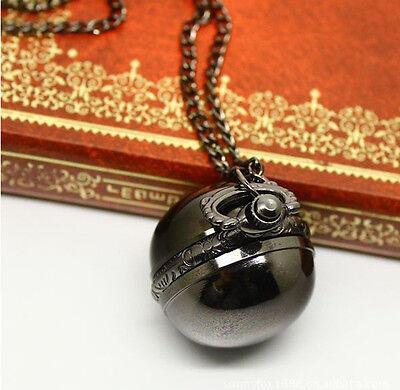 Kyпить Antique Vintage Bronze Ball Steampunk Pocket Watch Necklace Pendant Chain Men's на еВаy.соm