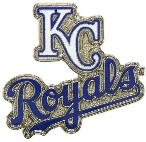 Kansas City Royals Mlb Baseball Logo & Script Sports Pin Licensed By Aminco