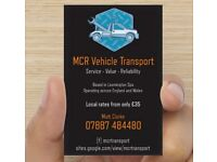 MCR Vehicle Transport - Fast, Friendly and Reliable