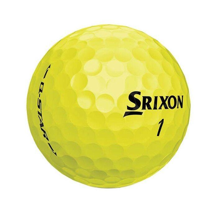 "1 Dozen Yellow Srixon "" Q-Star"" Golf Balls!   Mint!!!  AAAAA"