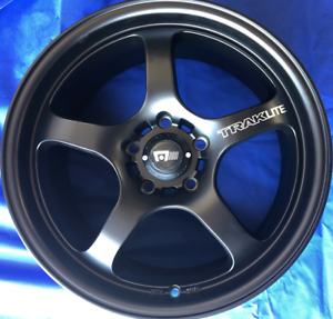 SET OF FOUR (4) MTR 17x8 5/114.3 et40 TRAKLITE Gladesville Ryde Area Preview