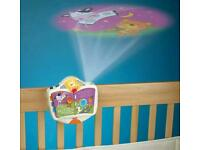 Fisher price soother with lullaby and projector