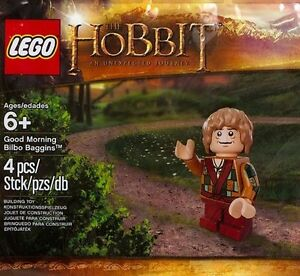 Lego The Hobbit: Good Morning Bilbo Baggins Mini Figure 6079610 Toy