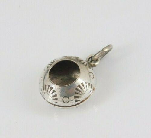 Vintage Southwestern Sterling Silver Pot Charm