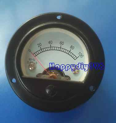 1pc So-52 100ma Vu Panel Meter For Speakers Tube Amplifiers Cd Players