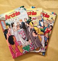 Archie : Le Mariage (couverture dure) 10$ pour les 3