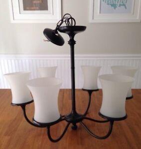 Luminaire lumière plafonnier chandelier lustre éclairage  Ikea