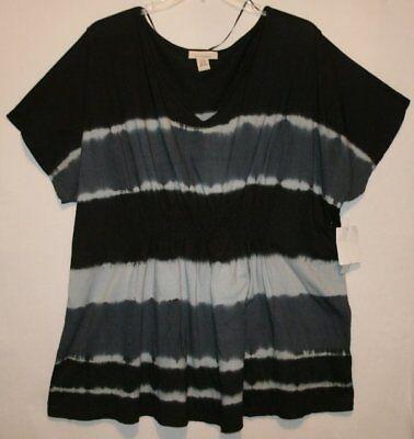Womens Roamans Size 4X Top Blouse Shirt Nwt New