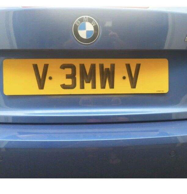 V 3MW V Number plate private Asian BMW M3 M5