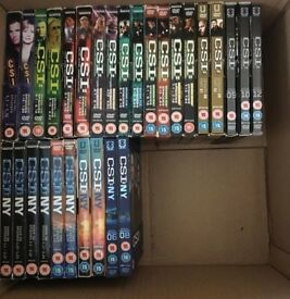 CSI VEGAS & CSI NY DVD BOX SETS (OFFERS)