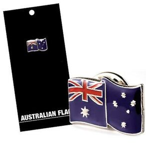 Australian Flag Enamel Lapel Pin - Wear In Pride On Australia Day