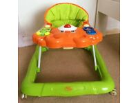 Baby Walker For First Steps - Learning Activity Tray Toys