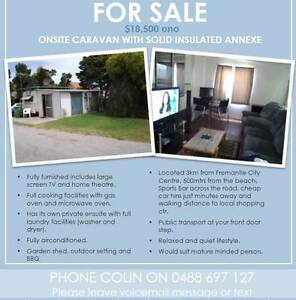 Onsite caravan for sale in Fremantle Fremantle Fremantle Area Preview