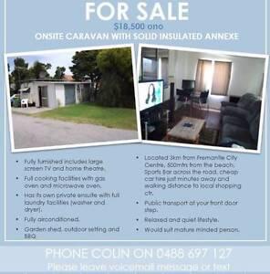 Onsite caravan for sale Fremantle Fremantle Area Preview
