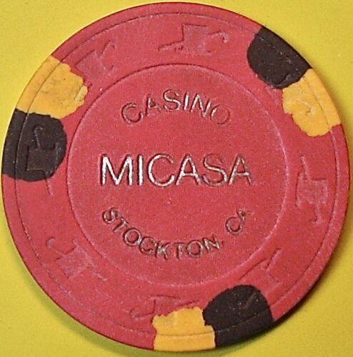 $20 Casino Chip. Casino Micasa, Stockton, CA. 1992. Q31.