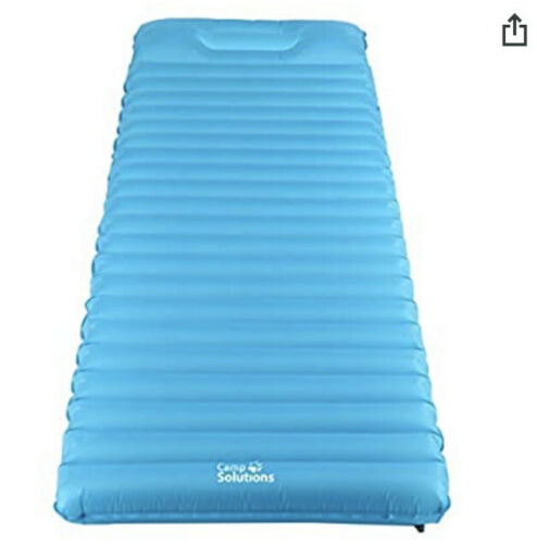 Camp Solutions Ultralight Sleeping Pad Air Mattress with Bui