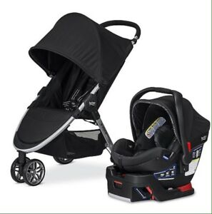 2017 B-Agile 3/B-Safe 35 Travel System - Black