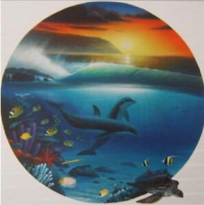 DOLPHIN DAYS by Wyland.   ( artist proof)
