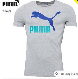 Puma No.1 logo t shirt 100% authentic brand new
