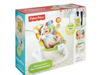 Fisher Price Rainforest Vibrating Baby Chair