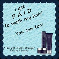 Get paid to wash your hair !