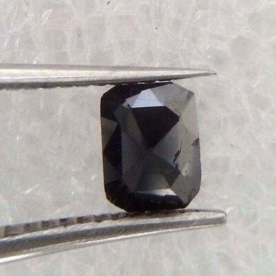 0.32TCW Black Emerald Natural Diamond for Valentine Day Deal Best Gift Low