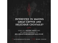 Full Time Barista at Caffeine and Cocktails