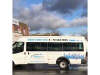 Cheap 16 Seater Minibus Hire With A Driver Coventry - Airports - Day Trips - Sporting Events