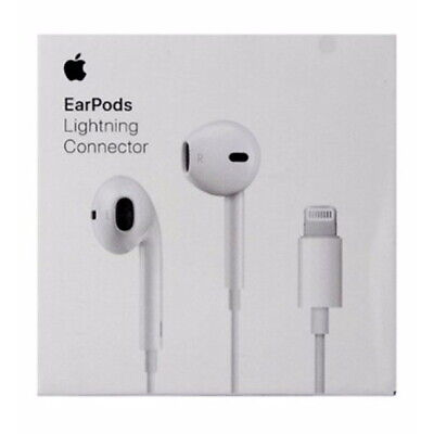 New Authentic Apple EarPods with Lightning Connector for iPhone X 7 8 MMTN2ZM/A