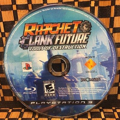 Ratchet & Clank Future: Tools of Destruction (PS3, 2007) USED (DISC ONLY)