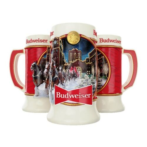 2020 Budweiser Annual Holiday Stein - IMPERFECTIONS