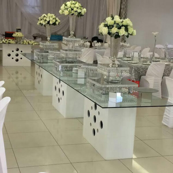 Gumtree Wedding Decoration: Wedding Glass Tables For Hire