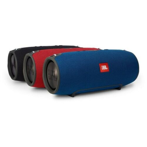 JBL Xtreme Splashproof Bluetooth Portable Rechargeable Speaker - Red Blue Camo