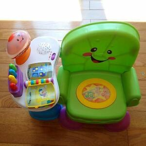 Musical toys (chair, piano, walker, ride-on)