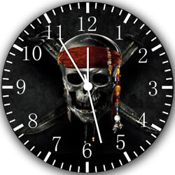 Pirates of the Caribbean Frameless Borderless Wall Clock Nice Gifts Decor Z165