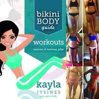 Kayla Itsines Bikini Body Guide and Nutrition Guide Bundle! $15