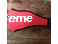 Supreme Red Face Mask