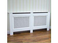 White mdf radiator cover * new * £50*