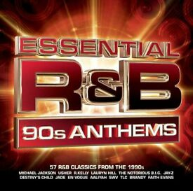ESSENTIAL R&B 90'S ANTHEMS: