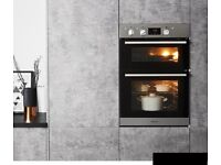 Hotpoint built in Double oven 60cm stainless steel