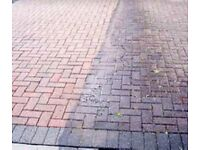 Driveway cleaning - pressure washing