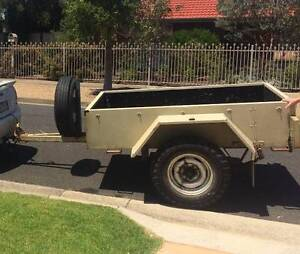 Heavy duty 1 Tonne trailer, ideal for 4x4, camping or a tradie Heathmont Maroondah Area Preview