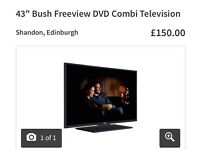 "43"" Bush Freeview Television/ DVD Combi"