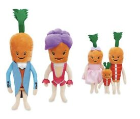 Kevin Carrot and the family bundle with tags