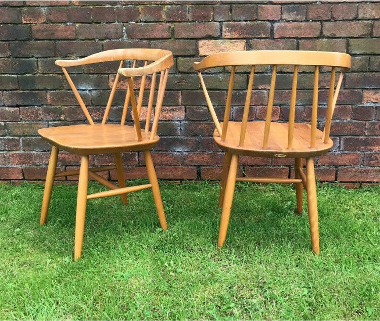 Vintage Chairs similar to Ercol Cowhorn