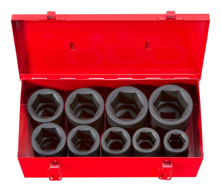 "TEKTON 4892 1"" Drive Deep Impact Socket Set, 1""-2"", SAE, Cr-"