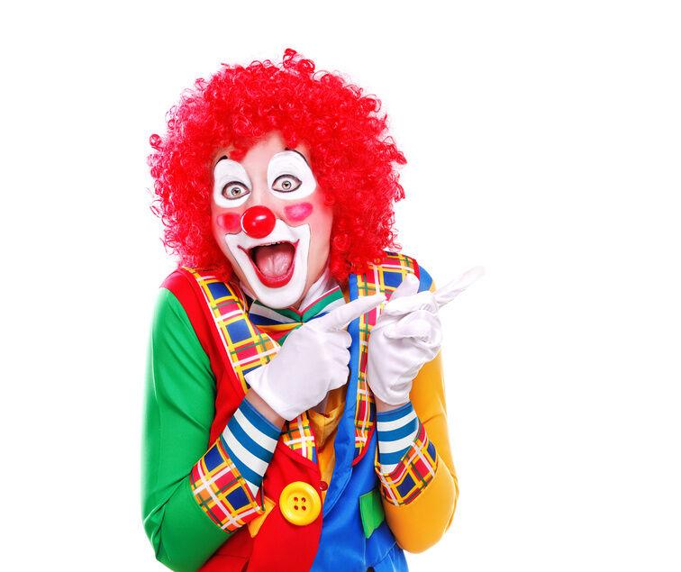 warum sich nicht mal zum clown machen diese utensilien ben tigen sie daf r ebay. Black Bedroom Furniture Sets. Home Design Ideas